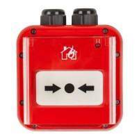 Buton de incendiu Teletek SensoIRIS MCP150 IP67 adresabil, rezistent la apa, led stare