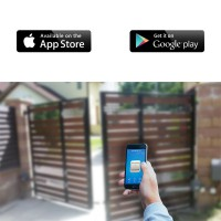 Smart N1 WiFi gate opener - Modul control automatizare porti/usa garaj prin wireless de pe smartphone (Android/iOS)