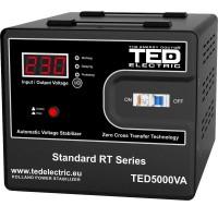 Stabilizator de retea maxim 5000VA / 3000W Ted 5000