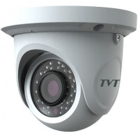 "Camera Analogica TVT TD-7524AM2(D/SW/IR1), 4-in-1, Dome, 2MP 1080p, CMOS 1/2.8"", 2.8mm, 24 LED, IR 20M, Starlight, Carcasa metal"