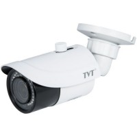 Camera bullet IP de exterior TVT TD-9443E2(D/AZ/PE/IR3) 4MP, 3.3-12mm zoom motorizat, IR 30m, IP66, WDR 120dB