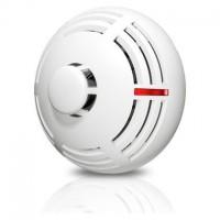 Detector conventional Satel TSD-1, Senzor de fum si temperatura, cablare pe 4 fire pentru sisteme de alarma
