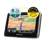 "GPS Serioux, Urban Pilot UPQ430, 4.3"" TFT, rezolutie: 480*272, Mstar2531 800MHz, 128 MB DDR3 RAM, memorie interna 4GB, baterie UPQ430FE"