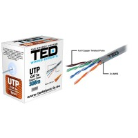UTP TED CUPRU CAT5E