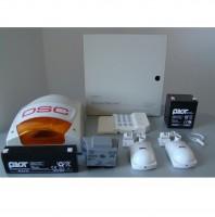 KIT alarma cu sirena de exterior DSC 1616 EXT