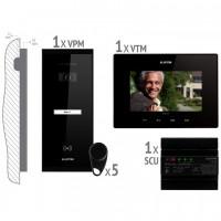 KIT videointerfon pentru 1 Familie VKM.P1SR.T7S4.ELB04 montaj aplicat