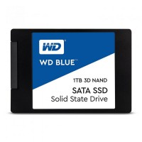 "SSD WD, 1TB, Blue, 2.5"", SATA3 6GB/s, R/W speed: 560/530MB/s, 3D NAND, 7mm WDS100T2B0A"