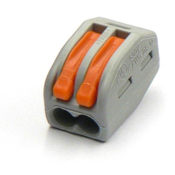 Set 10 conectori 2 poli Wago 222-412