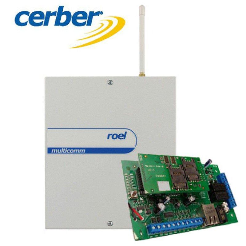Centrala de avertizare Cerber C816W IP/GPRS - COMBO