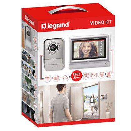 Kit videointerfon cu ecran tactil 7'' Legrand 369320