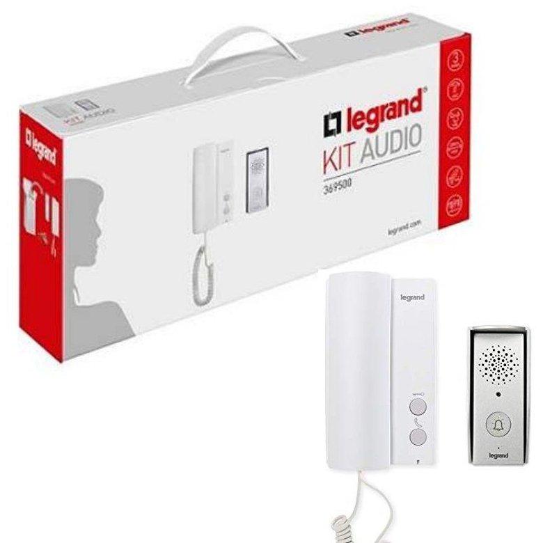 Kit interfon audio Legrand 369500 pentru o familie