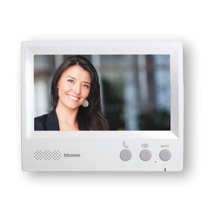 Panou interior suplimentar cu display de 7 inch pentru videointerfon Legrand (369585)