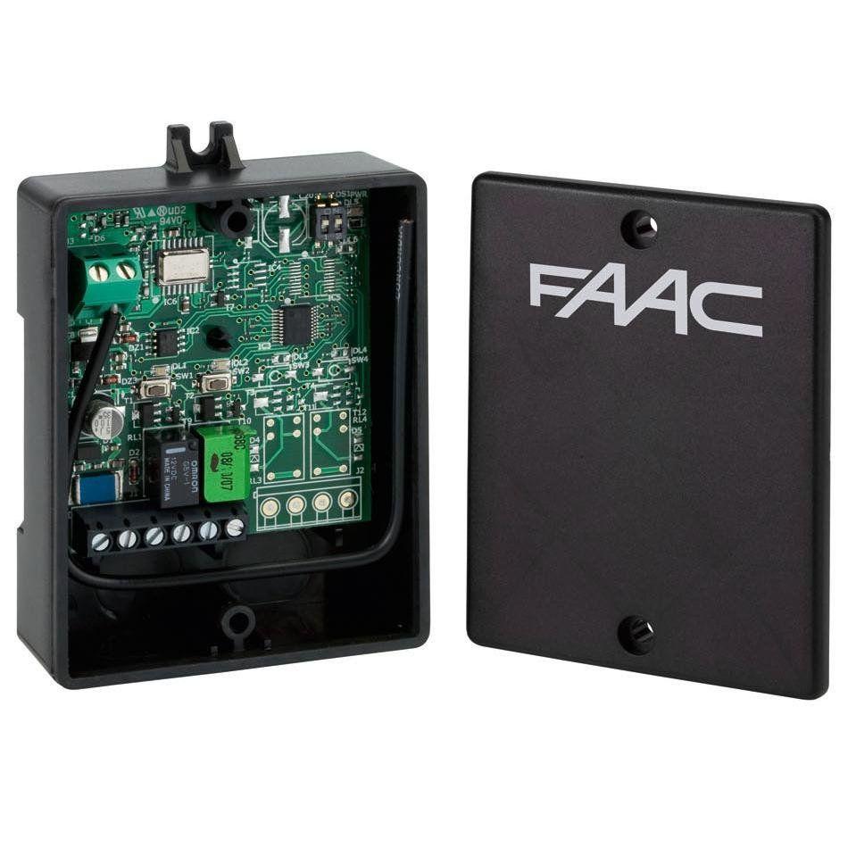 Receptor radio extern FAAC XR2-433-C 2 canale