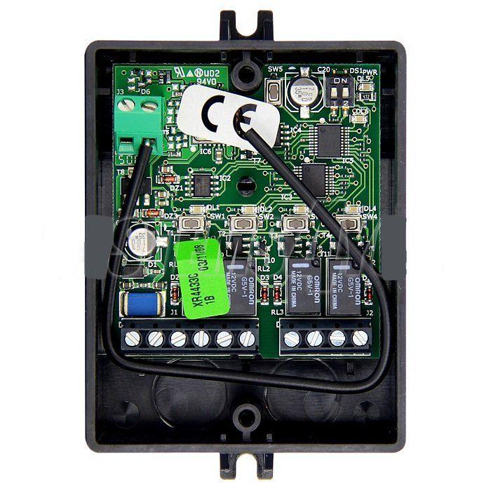 Receptor radio extern FAAC XR4-433-C 4 canale