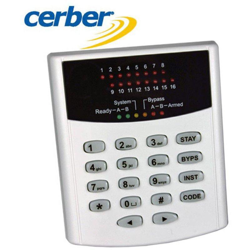 Tastatura LED adresabila Cerber KP-166L