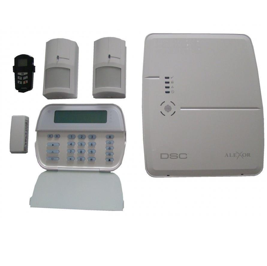 Kit Alarma Wireless Alexor Gsm+ip Dsc