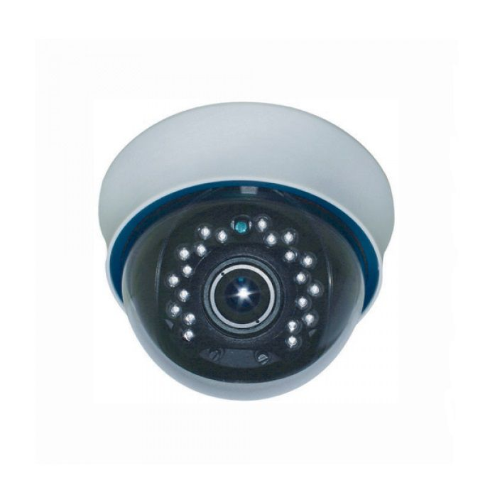 Camera Dome De Interior 700tvl Cu Ir Kmw Km-125wdr 700 Tvl Ir 25m