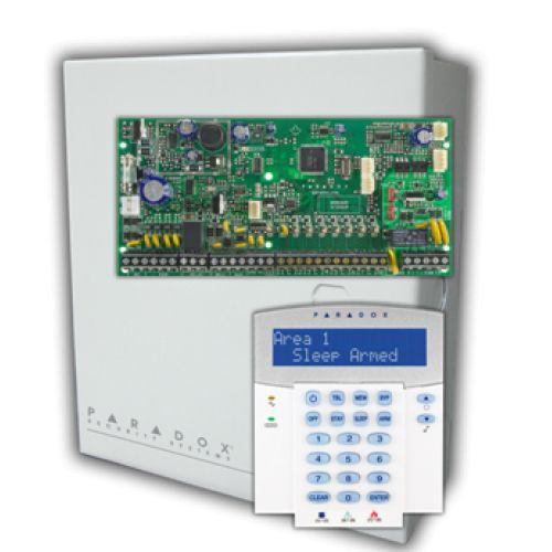 Kit alarma Paradox SP4000 cu tastatura K32LCD si 2 detectori 476+