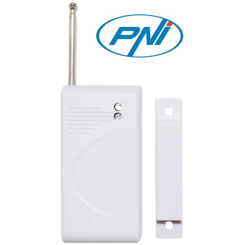 Contact Magnetic Wireless Pni A001 Pentru Sistem De Alarma