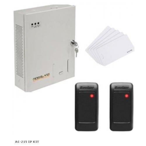 Kit de control acces si pontaj extensibil ROSSLARE AC-215 IP KIT