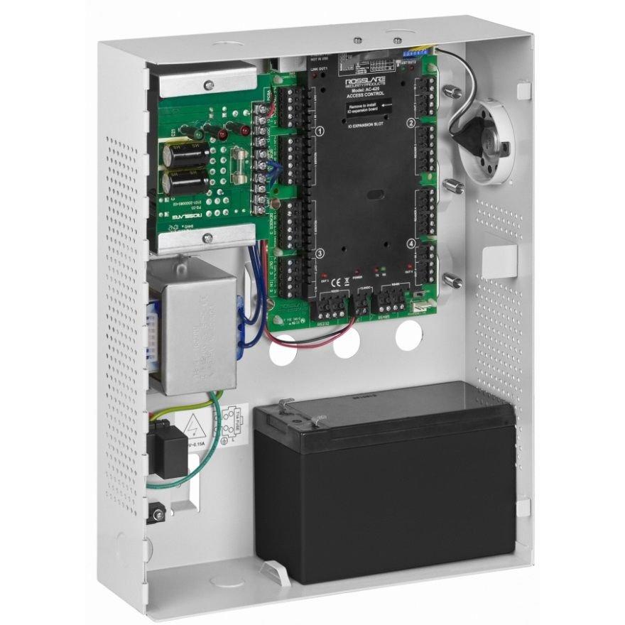 Centrala control acces 4 cititoare 2 usi bidirectionala sau 4 usi unidirectionale Rosslare AC-425