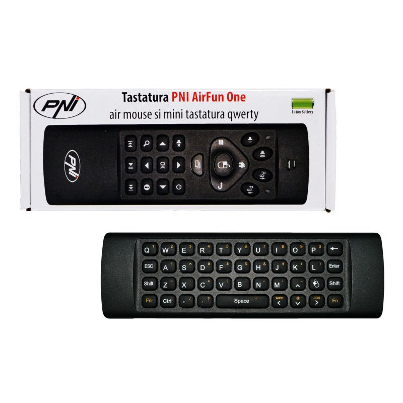Tastatura Pni Airfun One Air Mouse Si Mini Tastatu
