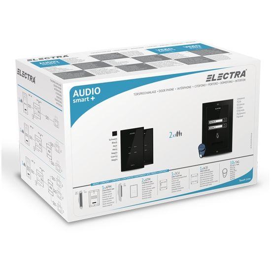 Kit Interfon Audio Electra Pentru 2 Familii