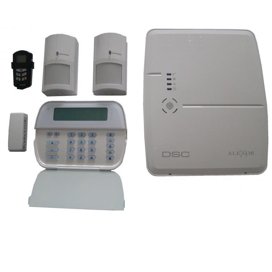 Kit Alarma Wireless Alexor Gsm Dsc
