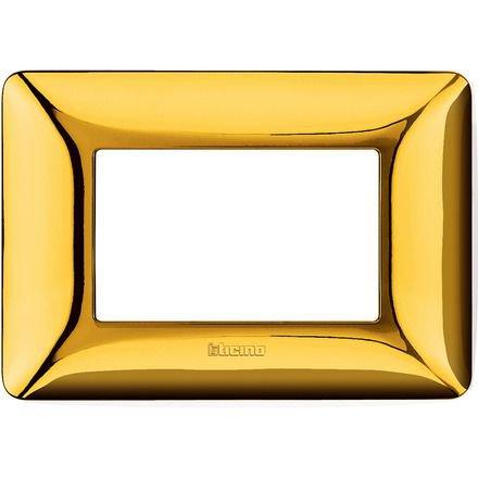 Rama ornament 3M auriu lucios Matix Bticino AM4803GOR
