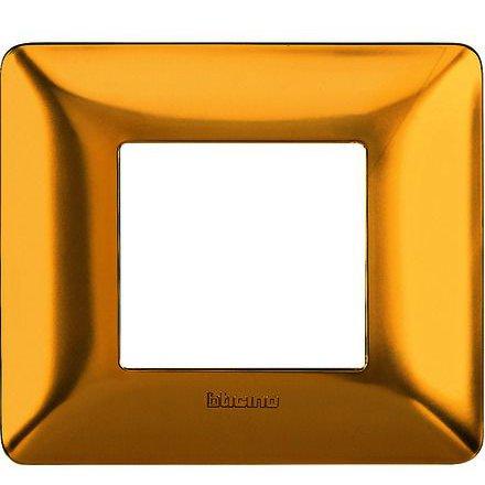 Rama ornament 3M auriu satinat Matix Bticino AM4803GOS