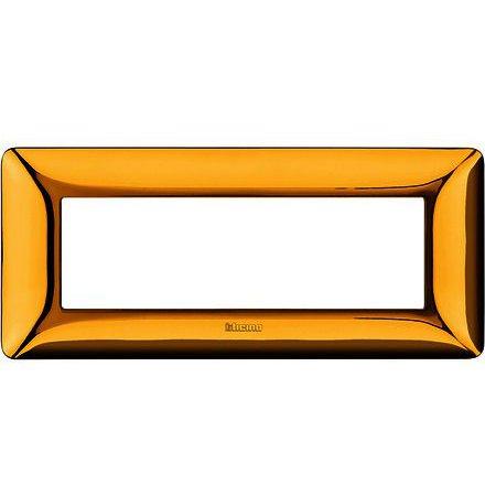 Rama ornament 6M auriu lucios Matix Bticino AM4806GOR