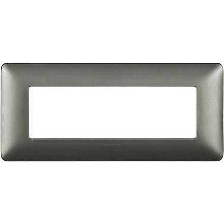 Rama ornament 6M argintiu Matix Bticino AM4806MSL