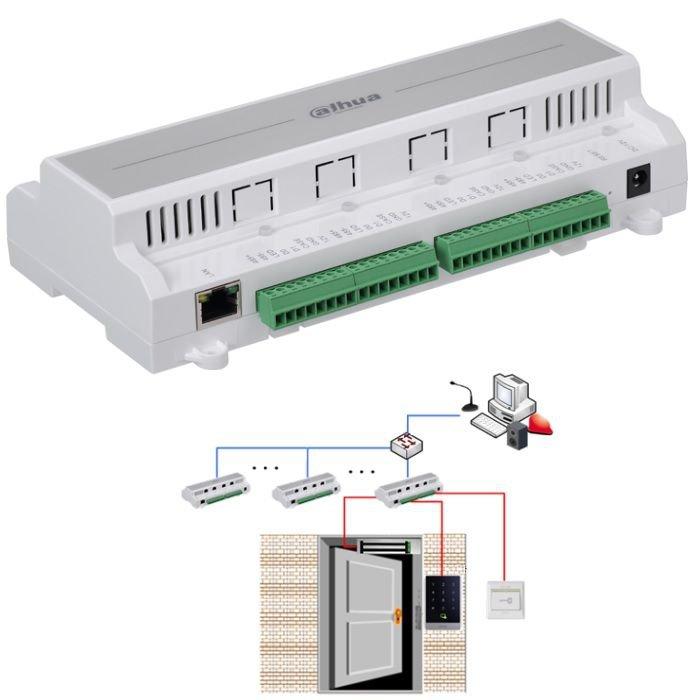 Control Acces Dahua Asc1204b Pentru 4 Usi Independente