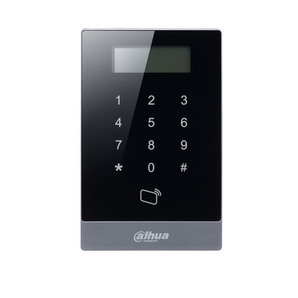 Controler acces Dahua ASI1201A-D standalone tastatura touch si display LCD 13.56Mhz functie watch dog 3 relee