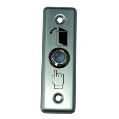 Buton Metalic Iesire. No/nc. Led B-802l