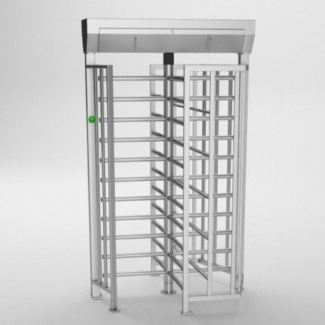 Turnichet Vertical Full Height Ba3-1-4-ooo Ip44. Cadru. Acoperis Si Rotor Galvanizate
