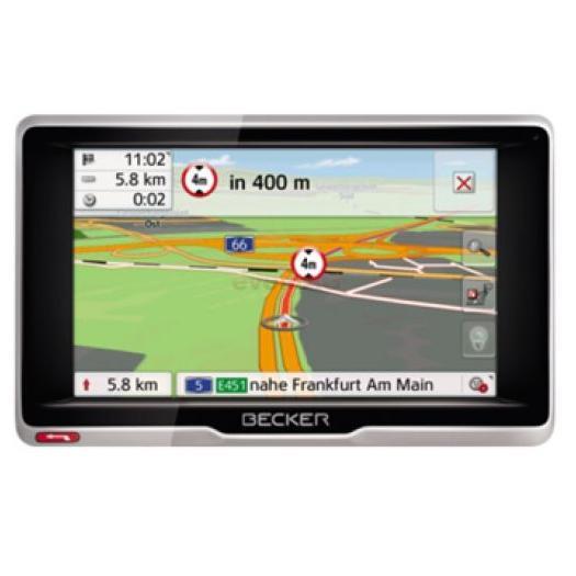 Navigator Gps 5 Becker Transit.5 Lmu Pentru Camioane Si Rulote Harta Full Europa + Actualizari Gratuite