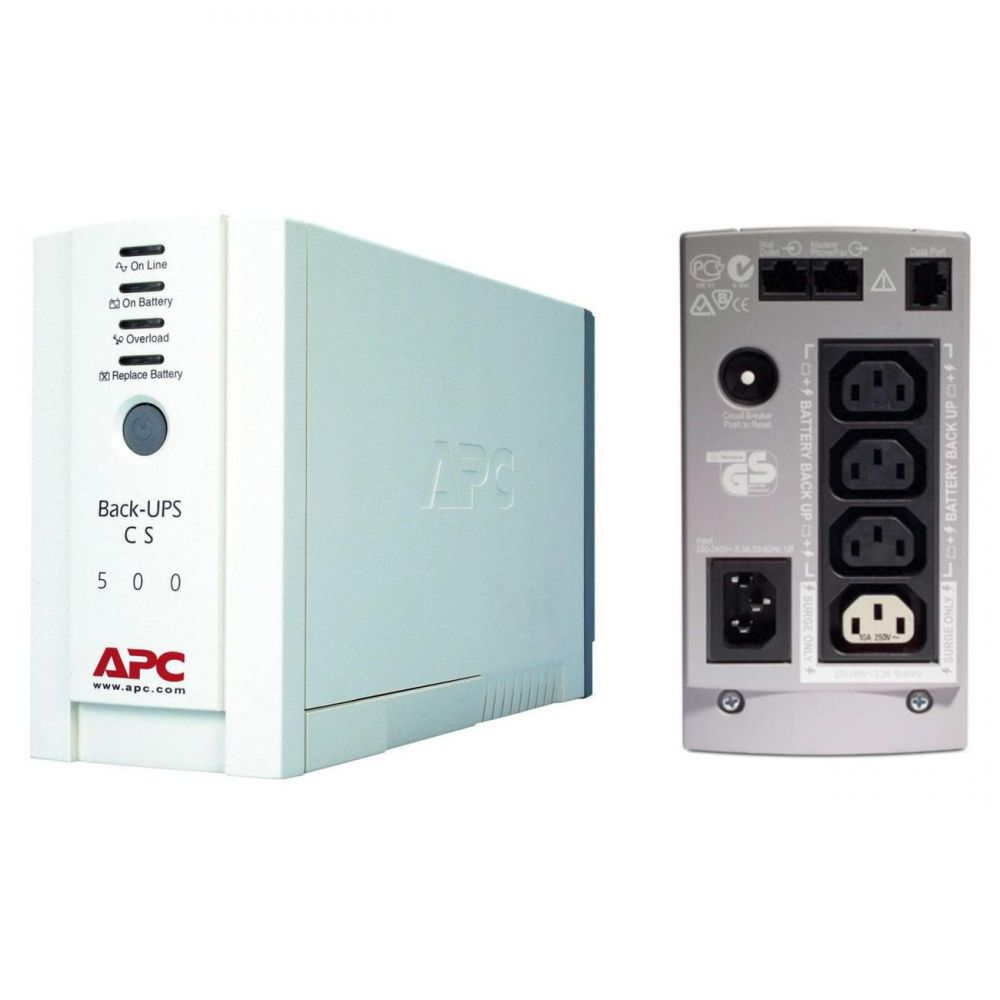 Imagine Ups Apc Bk500ei Back-ups Cs Stand-by 500va - 300w 4 Conectori C13