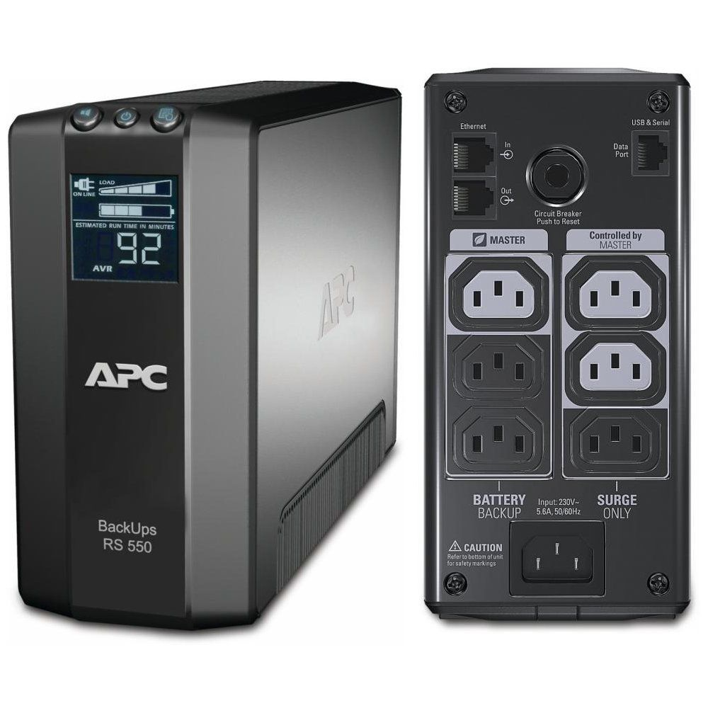 Ups Apc Br550gi Back-ups Rs Line-interactive / Apr