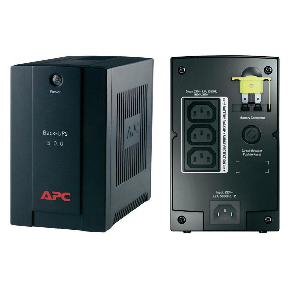 UPS APC BX500CI Back-UPS BX line-interactive / aprox.sinusoida 500VA / 300W 3 conectori C13
