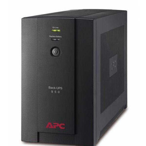 UPS APC BX950U-GR Back-UPS BX line-interactive / aprox.sinusoida 950VA / 480W 4 conectori Schuko CEE7