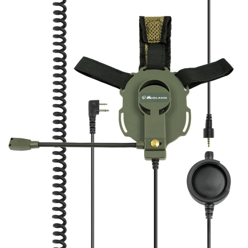 Casca Cu Microfon Midland Bow-m Evo-k Cu Mufa Tip