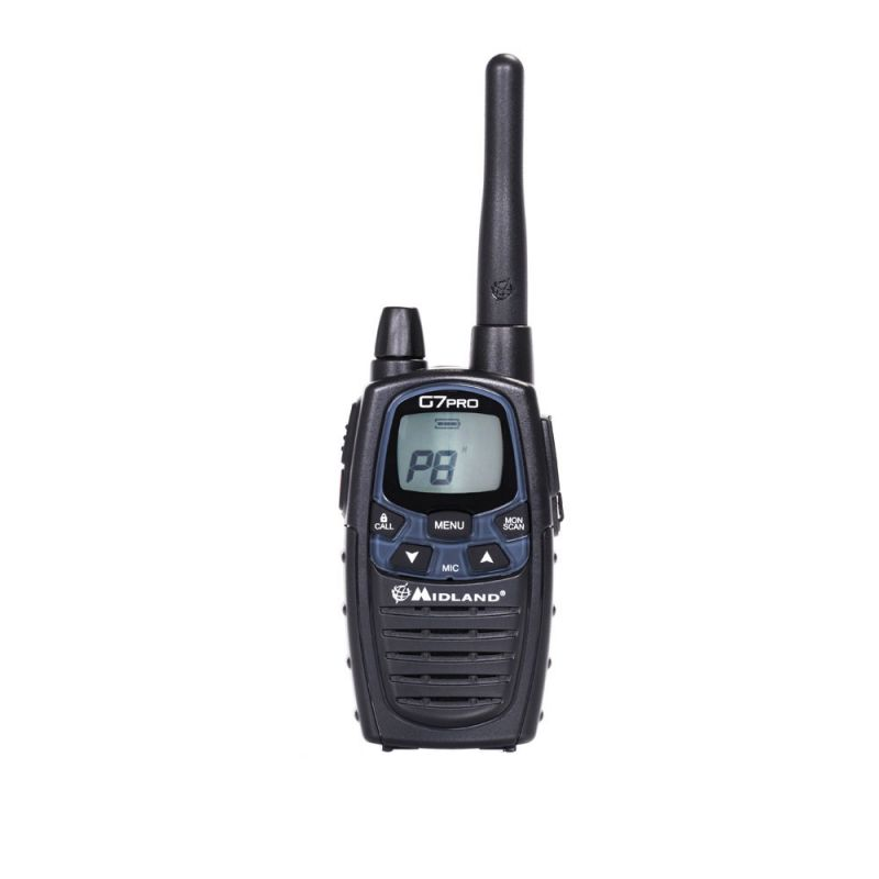 Statie Radio Pmr/lpd Portabila Midland G7 Pro Sing