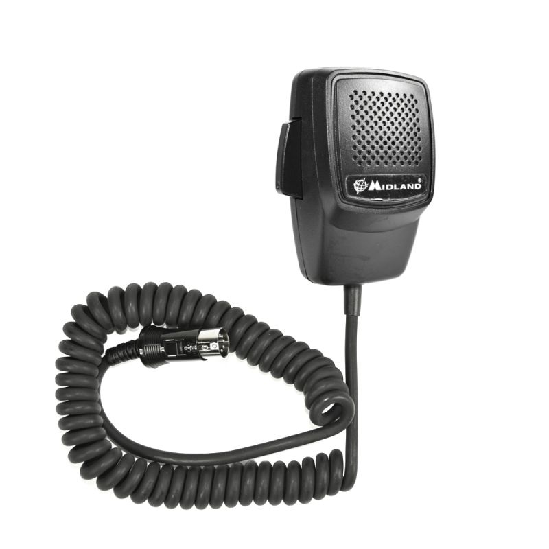 Microfon Midland Cu 5 Pini Pentru Alan 100 Old Mod