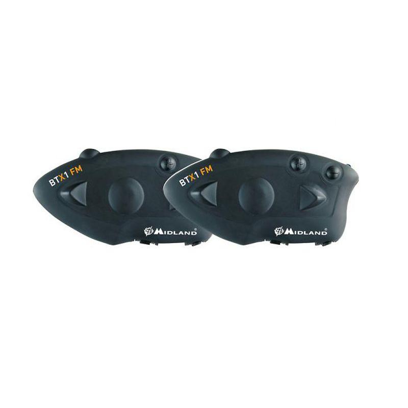 Sistem Comunicare Moto Midland Btx1 Fm Cod C1142.01 Twin Pack