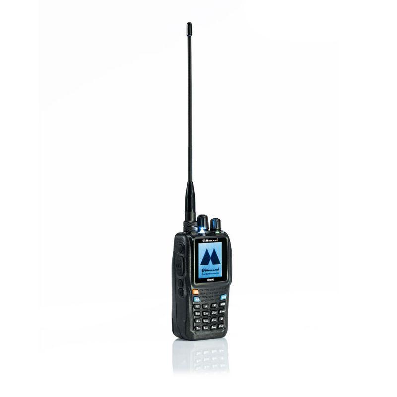 Statie Radio Vhf/uhf Portabila Midland Ct890 Dual Band. 136-174 Si 400-470 Mhz. Cod C1170.01