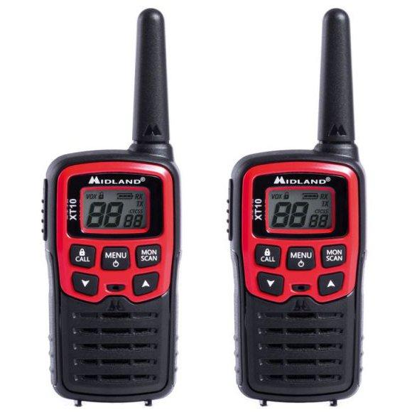 Statie Radio Pmr Portabila Midland Xt10 Set Cu 2 B