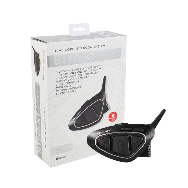 Sistem Comunicare Moto Midland Bt Next Pro Cod C1222 Single Pack