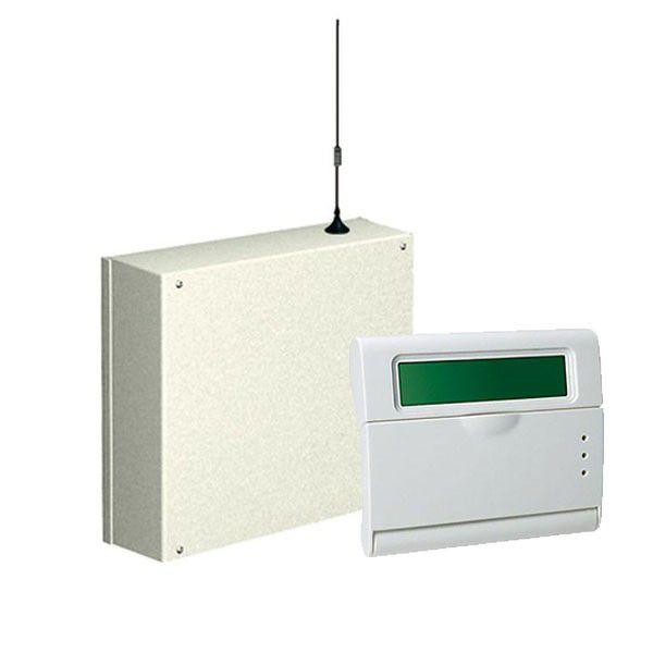 Centrala Alarma 8 Zone Cu Comunicator Gsm Incorporat Amc C24gsm