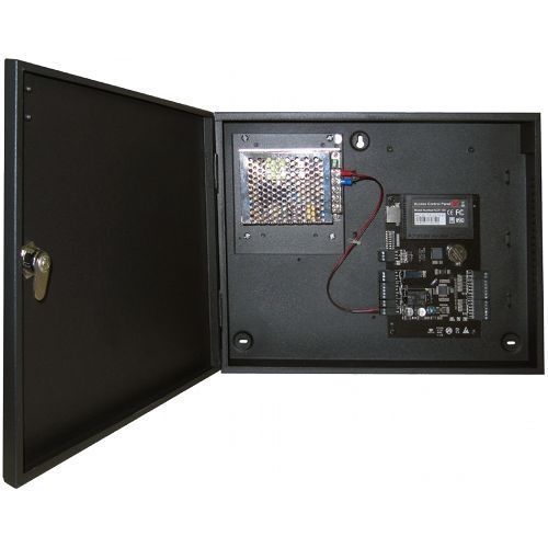 Centrala De Control Acces Pentru O Usa Bidirectionala Zkaccess C3-100kit + Cutie Metalica